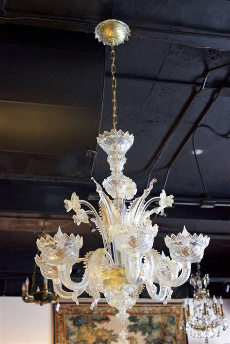 venetian home decor venetian cristallo chandelier with golden decor mazzega murano 20th century at 1stdibs