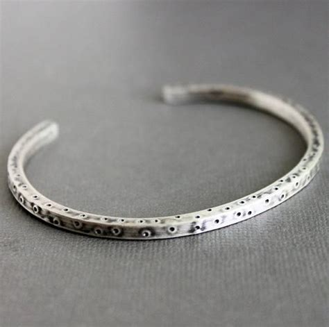 metal cuffs for jewelry s silver cuff bracelets mens sterling silver rustic