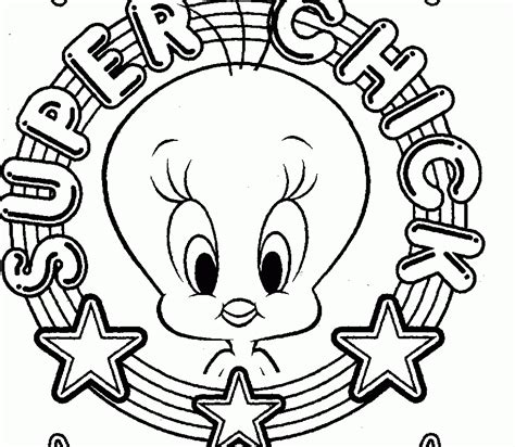 printable coloring pages tweety bird coloring pages tweety bird coloring home
