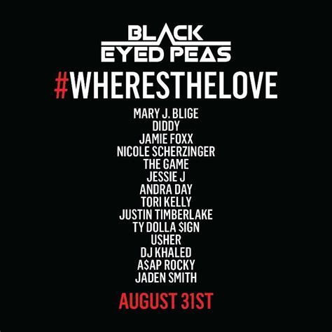 black eyed peas where is the love black eyed peas release where is the love remake