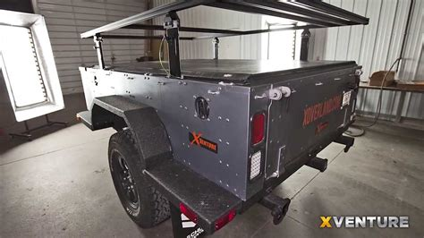 Kitchen Design Workshop by Xventure Off Road Camping And Utility Trailer Youtube