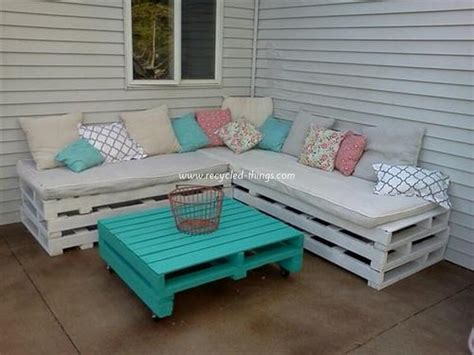 Wooden Pallet Outdoor Furniture Ideas Recycled Things Diy Outdoor Patio Furniture