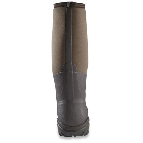 muck boot men s artic pro waterproof hunting boots fleece - Rubber Boot Liners Fleece