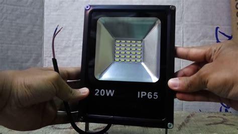 Lu Sorot Led 20 Watt Lu Sorot Led Flood Light Outdoor 20 Watt