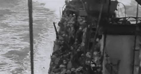 watch lost footage of dunkirk evacuation discovered at see extraordinary lost footage of the dunkirk evacuation