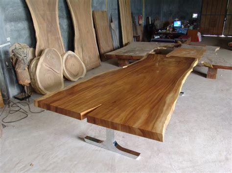 Seat Meja Makan Suar Nakasrakmejakursisofalemari live edge dining table reclaimed solid slab acacia wood 10 to