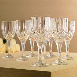 gorham barware lady anne signature fine crystal stemware and barware by