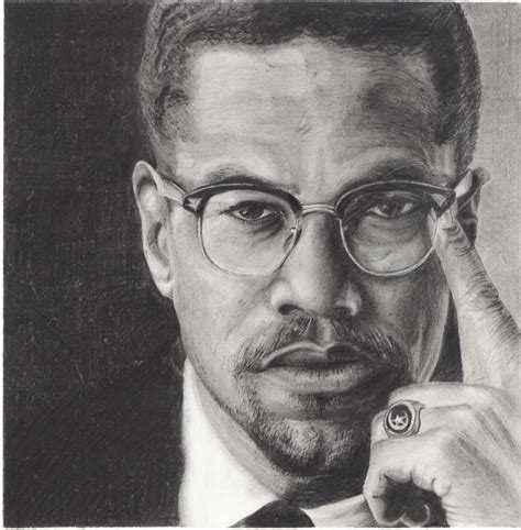 Drawing X On by Thinking Of Malcolm X Who Was Assassinated On This Day In