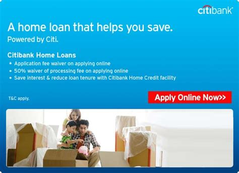 citibank housing loan personal home loans mortgage loans against property citibank india