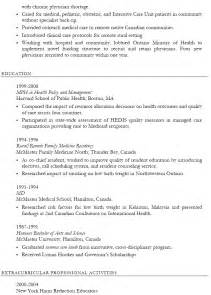 health care resume sle sle resume
