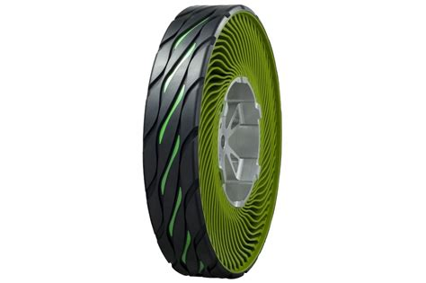 Bridgestone Airless Tires by Bridgestone Develops Airless Tire Autoevolution