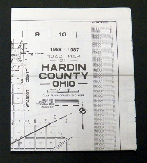 Hardin County Ohio Court Records Hardin Ohio Shop Collectibles Daily