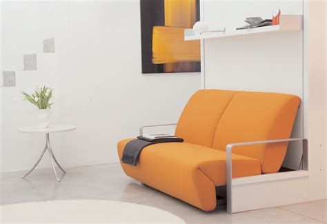 Sofa Wall Beds The Ito Fold Away Wall Bed With Adjustable Sofa Clei