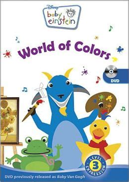 baby einstein colors baby einstein baby gogh world of colors by walt