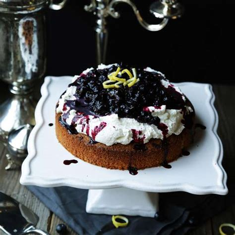 Hurrah Billy Is Two Chocolate Cake by Lemon Polenta Cake With Blueberries