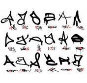 Graffiti Letters A Z Simple