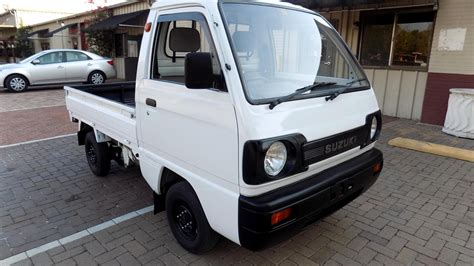 suzuki carry pickup suzuki carry 1991 rwd 31k miles kei mini pickup truck