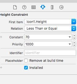 autolayout remove height constraint swift3 ios autolayout view s height anchor stack