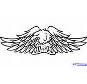 How To Draw Harley Davidson Logo Step 11