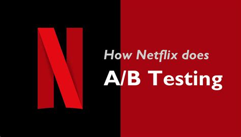 How Netflix Does A B Testing Ux Collective Netflix Powerpoint Template