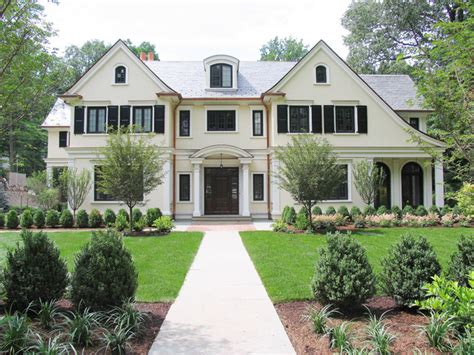 french country exterior design french country new residence summit nj traditional
