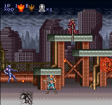 emuparadise contra contra 3 the alien wars nintendo super system rom