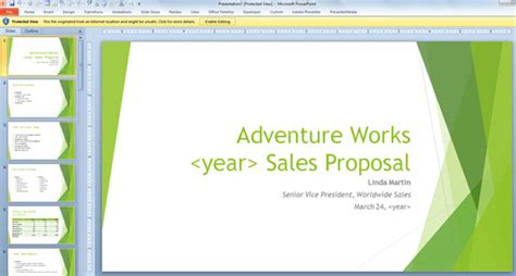 free sales template for powerpoint 2013