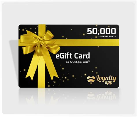 E Gift Cards - egift cards loyalty app
