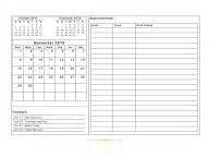 calendar template with notes for everyday landscape hot november 2015 calendar blank printable calendar template