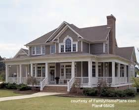 Home Plans With Front Porches by House Plans With Porches Wrap Around Porch House Plans