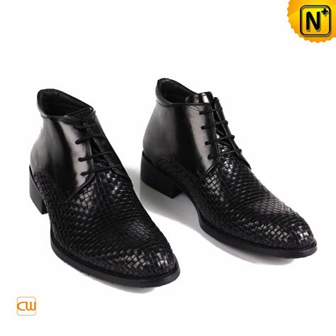 mens dressy boots mens lace up dress boots black cw763391