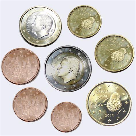 ebay euro espagne 2016 ensemble de 8 euro pi 232 ces de monnaie unc