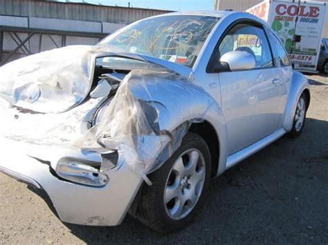 parting out 2002 volkswagen beetle stock 120145 tom