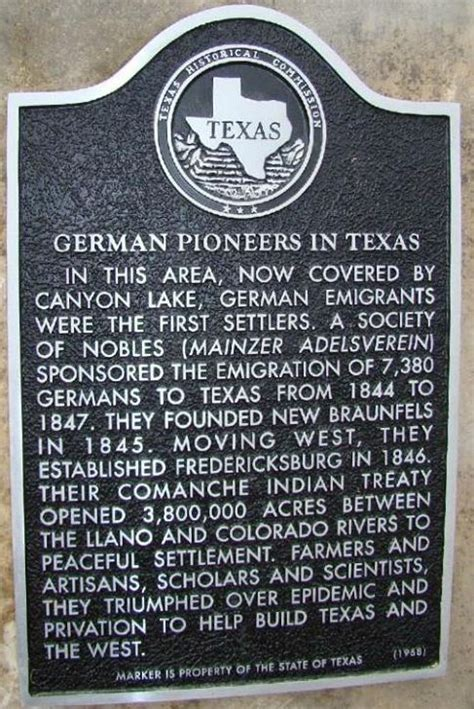 historical markers in texas map lake texas tx