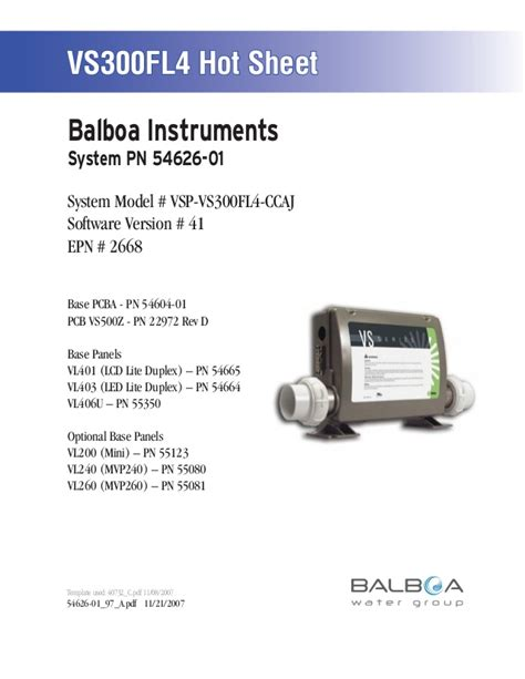 balboa instruments wiring diagram 33 wiring diagram
