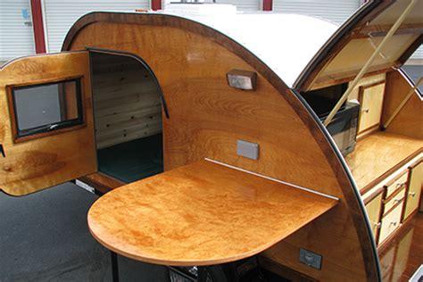 Camper Trailer Kitchen Designs Big Woody Teardrop Campers