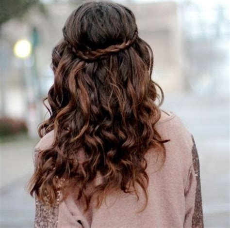 hairstyles for curly hair with just rubber bands easy hairstyles with stylish braids hairstyle for women