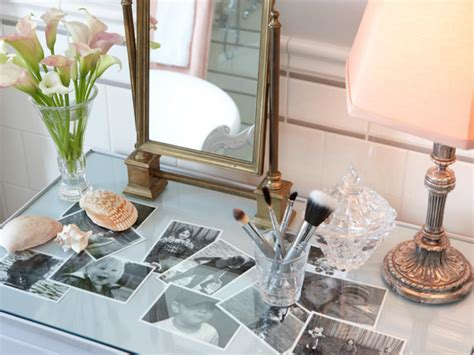 Glass Makeup Vanity Table Makeup Vanity Dressing Table Bathroom Ideas Designs Hgtv