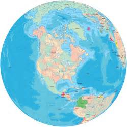 america political maps and globes usa canada bahamas