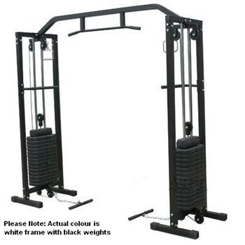 home weights free weight power cage auction 0003