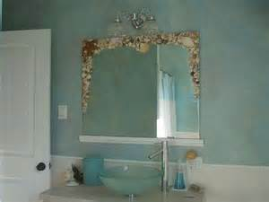 bathroom mirror redo coastal living