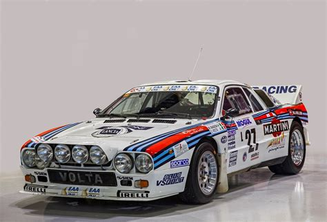 car rally lancia quartet anchors the 20th annual amelia island