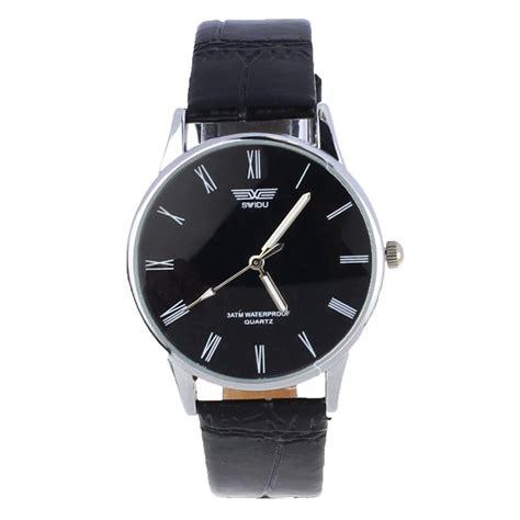 Skmei 1263 Jam Tangan Pria Analog Tipis Klasik Leather Gold Silver swidu jam tangan pria clasic pusat jam aksesoris