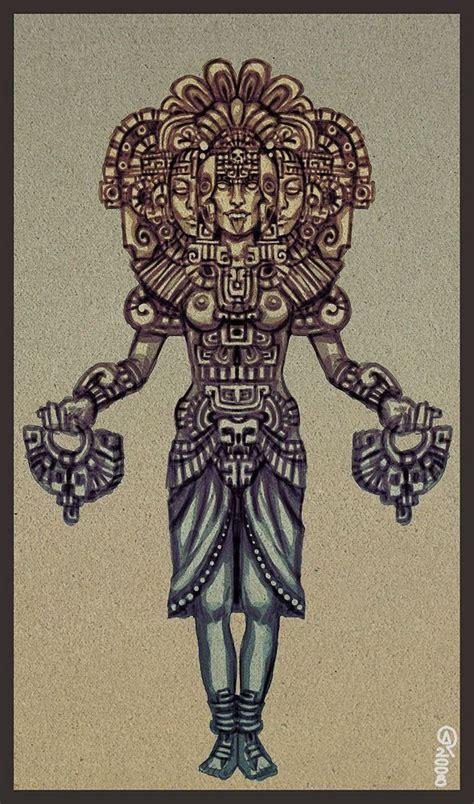 aztec art tattoos xochiquetzal mexicana aztec and