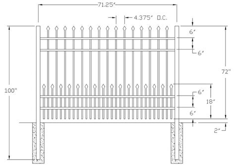residential fence height 28 images auburn residential aluminum fence residential fence