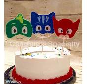 PJ Masks Inspired Cake Toppers/Birthday/Party