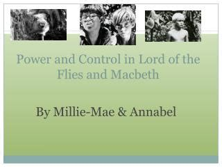 themes in lord of the flies and macbeth ppt lord of the flies theme chapters 7 9 powerpoint