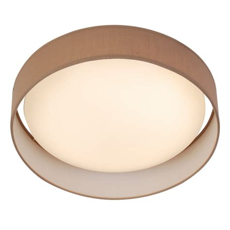 Brown Ceiling Light Shades 1 Light Led Flush Ceiling Light Acrylic Brown Shade
