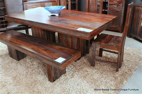 Indian Rosewood Dining Table 80 Quot L Dining Table Indian Solid Rosewood Gray And Tone Grain Spectacular Ebay