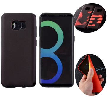 Samsung C5 Soft Tpu Anti Knock physical thermal sensor discoloration soft tpu anti knock back cover for samsung galaxy s8